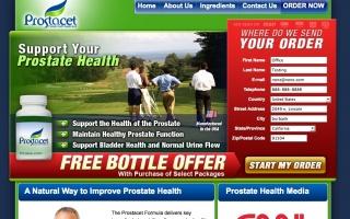 Prostacet Prostate Health Supplement Affiliate Program