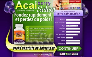 Review Acai Berry Select French Walmart Unequaledowner1